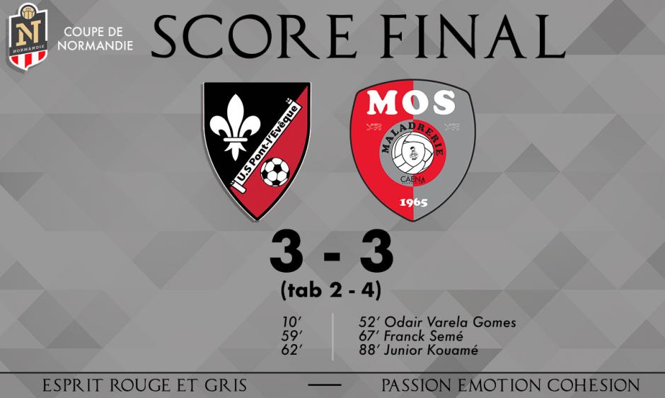 Victoire de la MOS en Coupe de Normandie